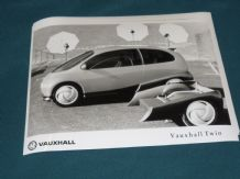 "VAUXHALL TWIN (CONCEPT CAR)   factory issued 8x6"" press photo"